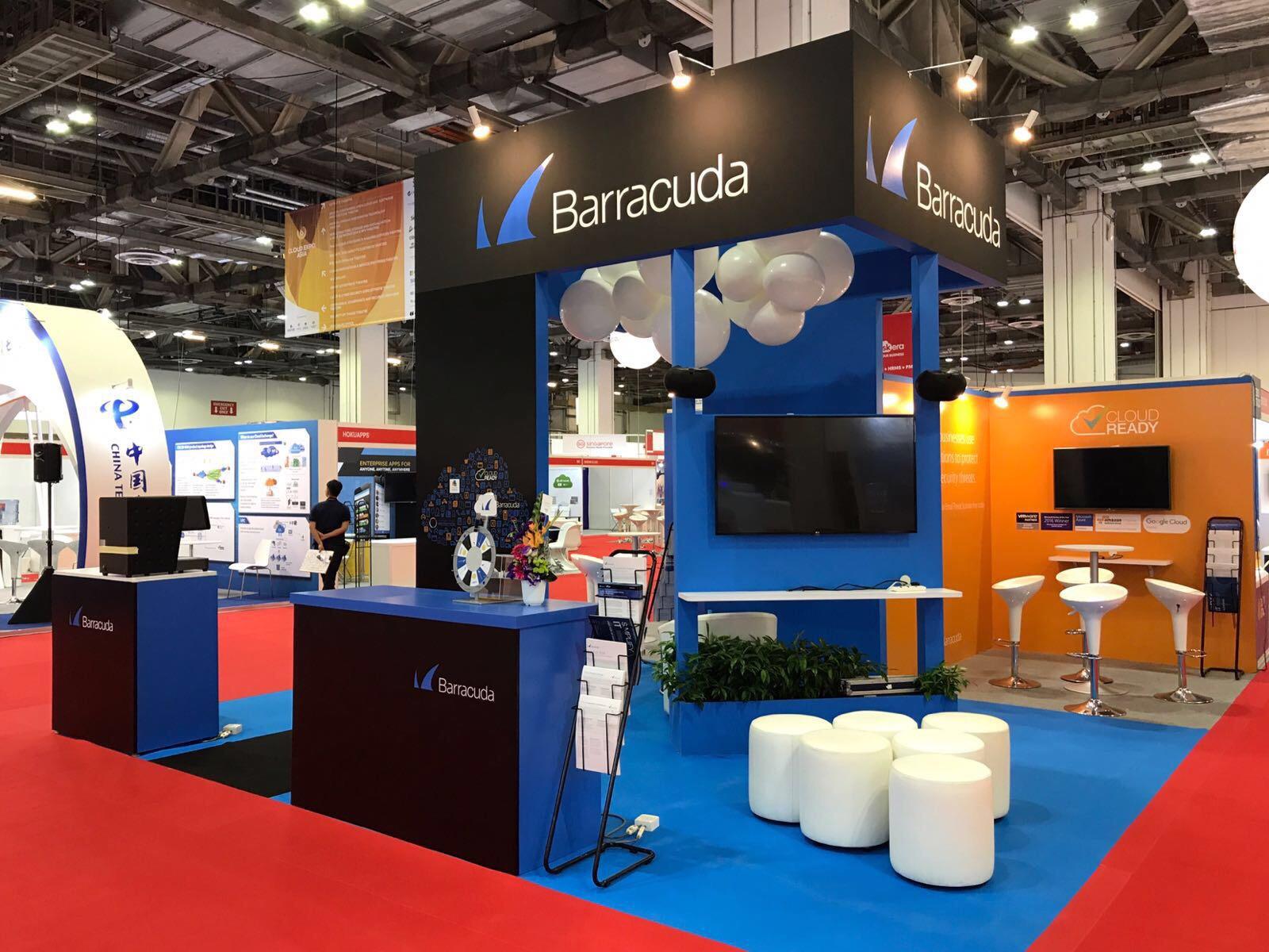 Barracuda Cloud Expo Asia Mcgagh 2