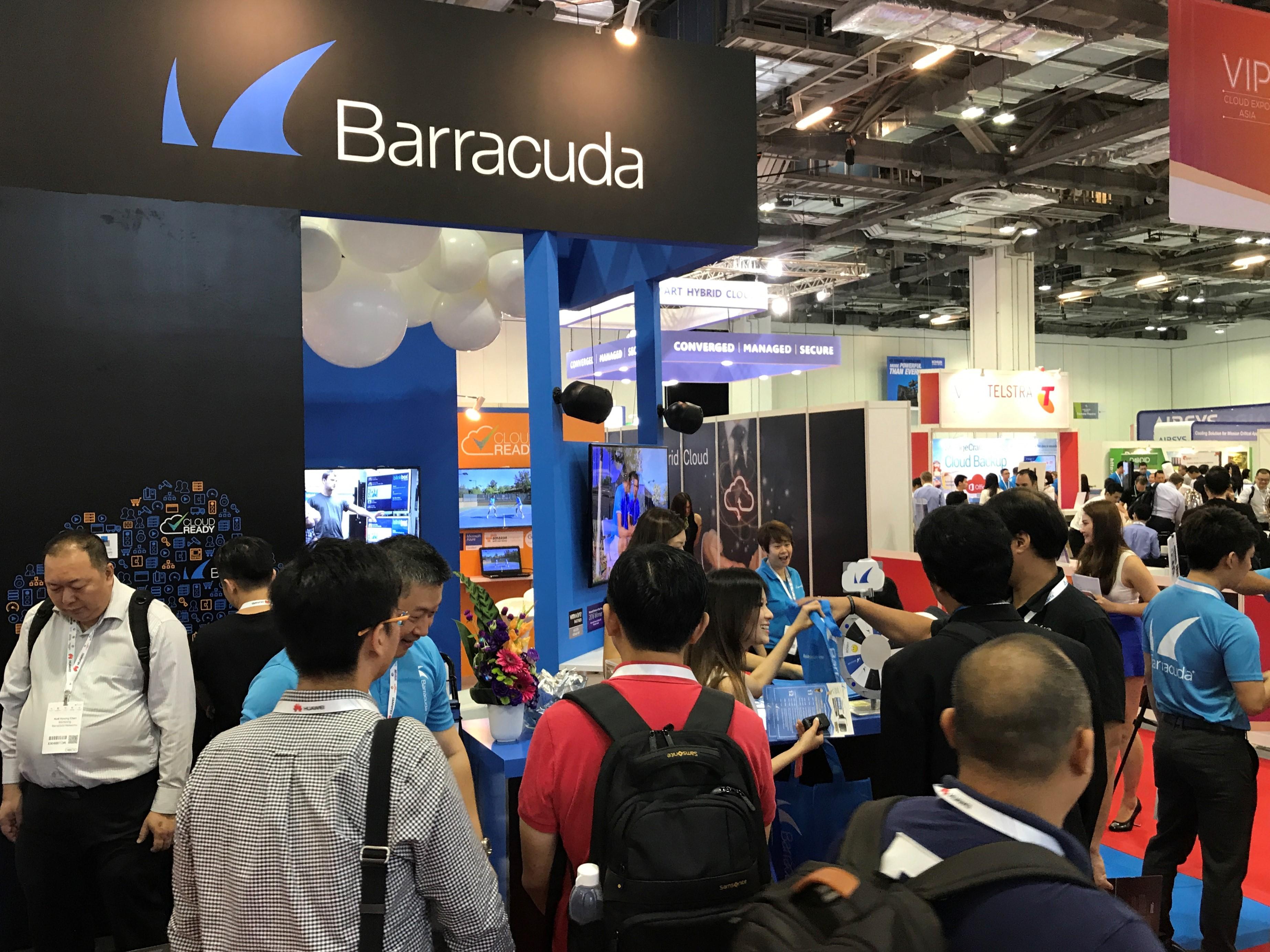 Barracuda Cloud Expo Asia Mcgagh