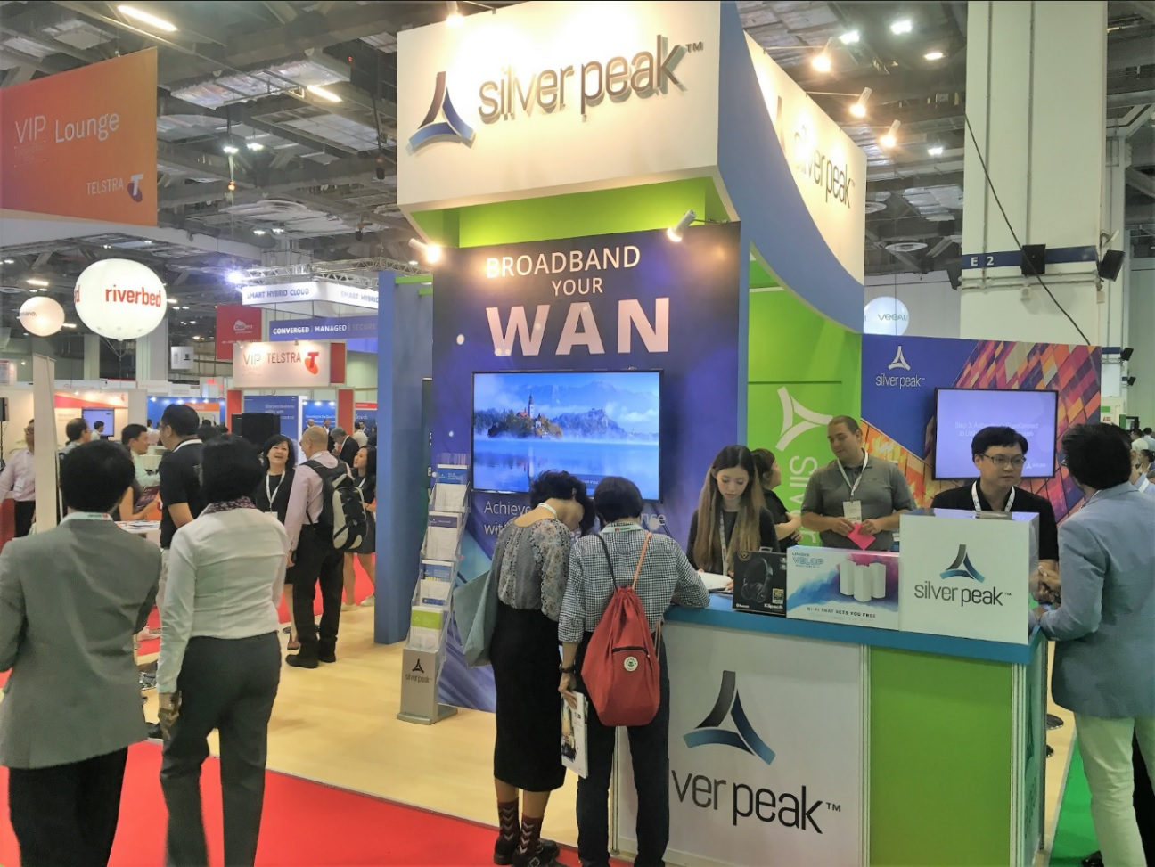 Silver Peak Cloud Expo Asia Mcgagh